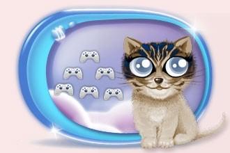I mini giochi di gatti